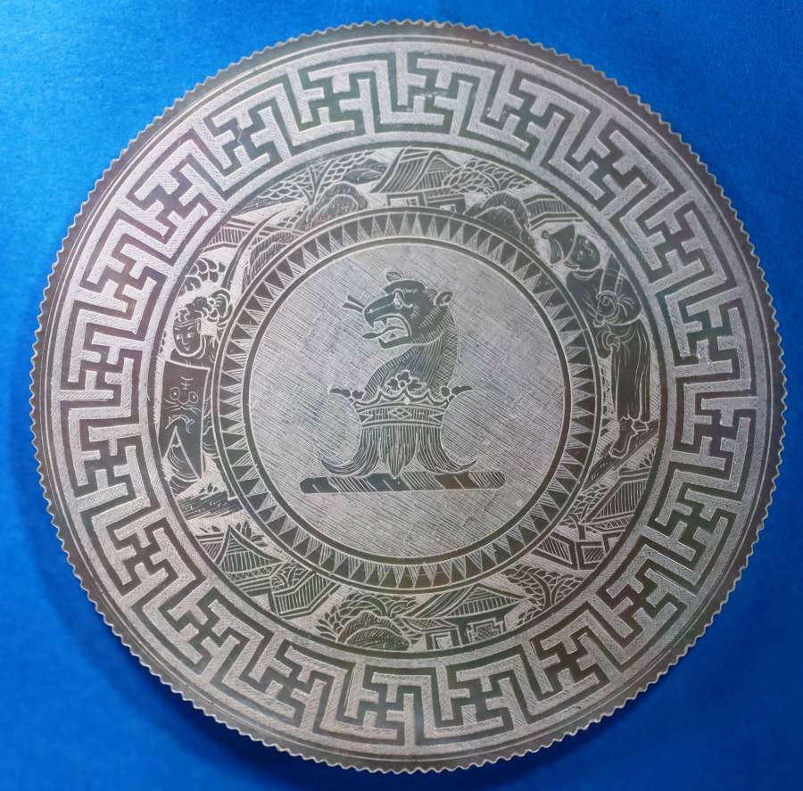 2 Armorial counters 1780 - 1820