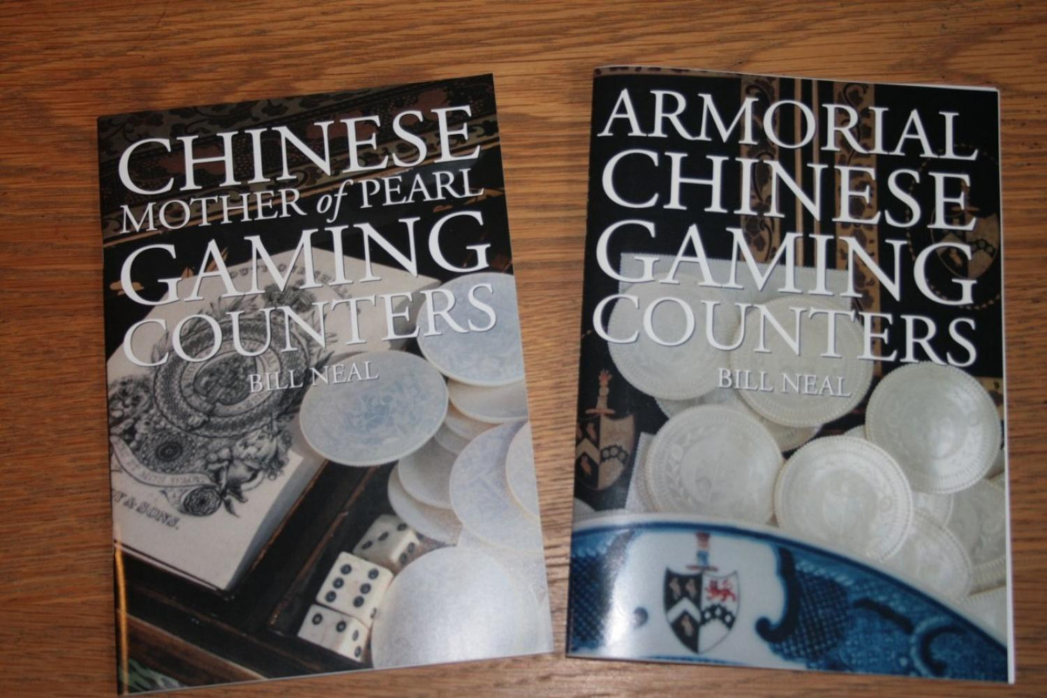 Booklets on gaming counters