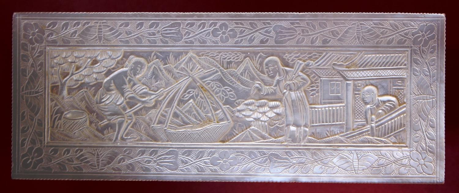 TOP QUALITY DEEP-CARVED LARGE SIZE