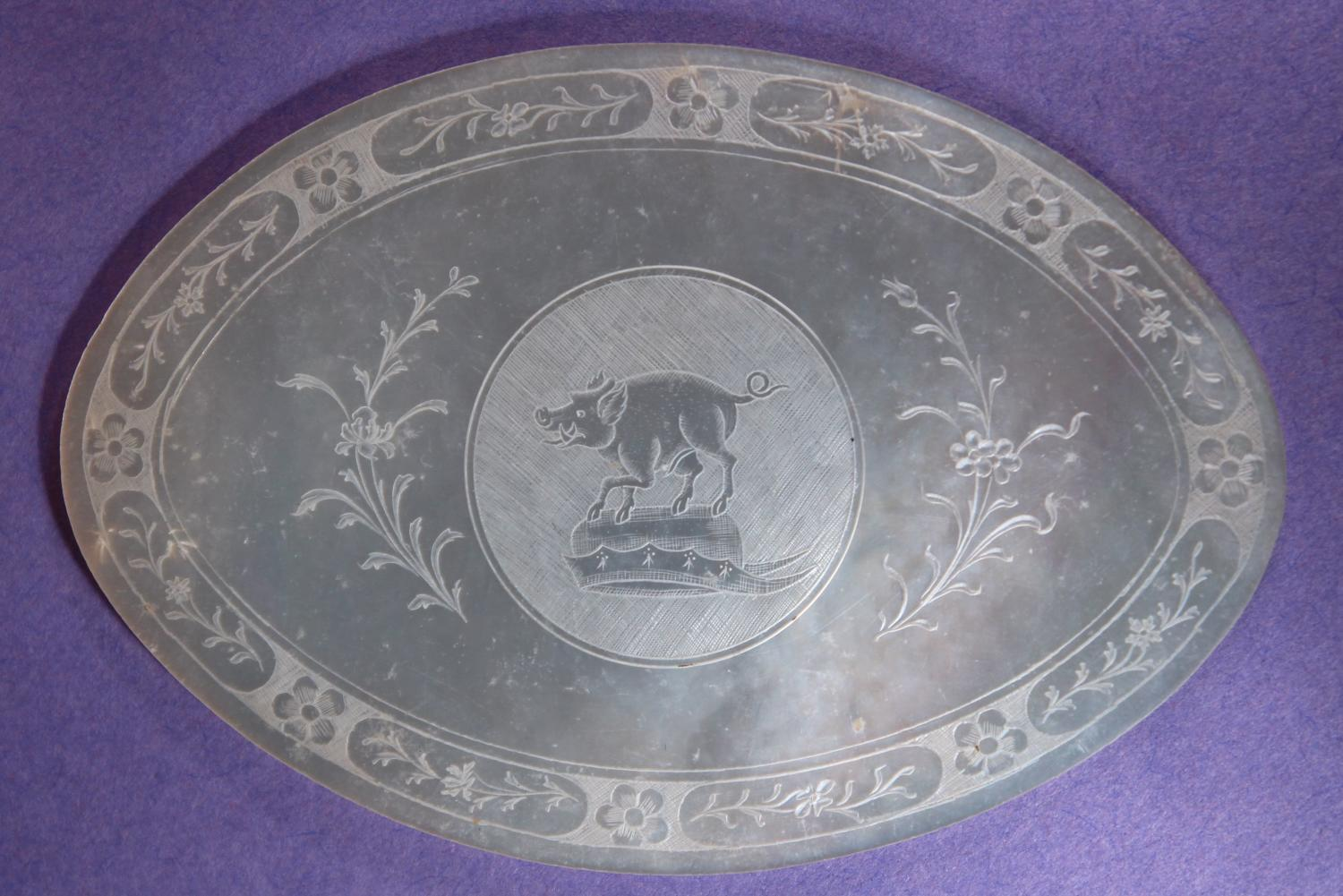 Large oval counter for HARDING