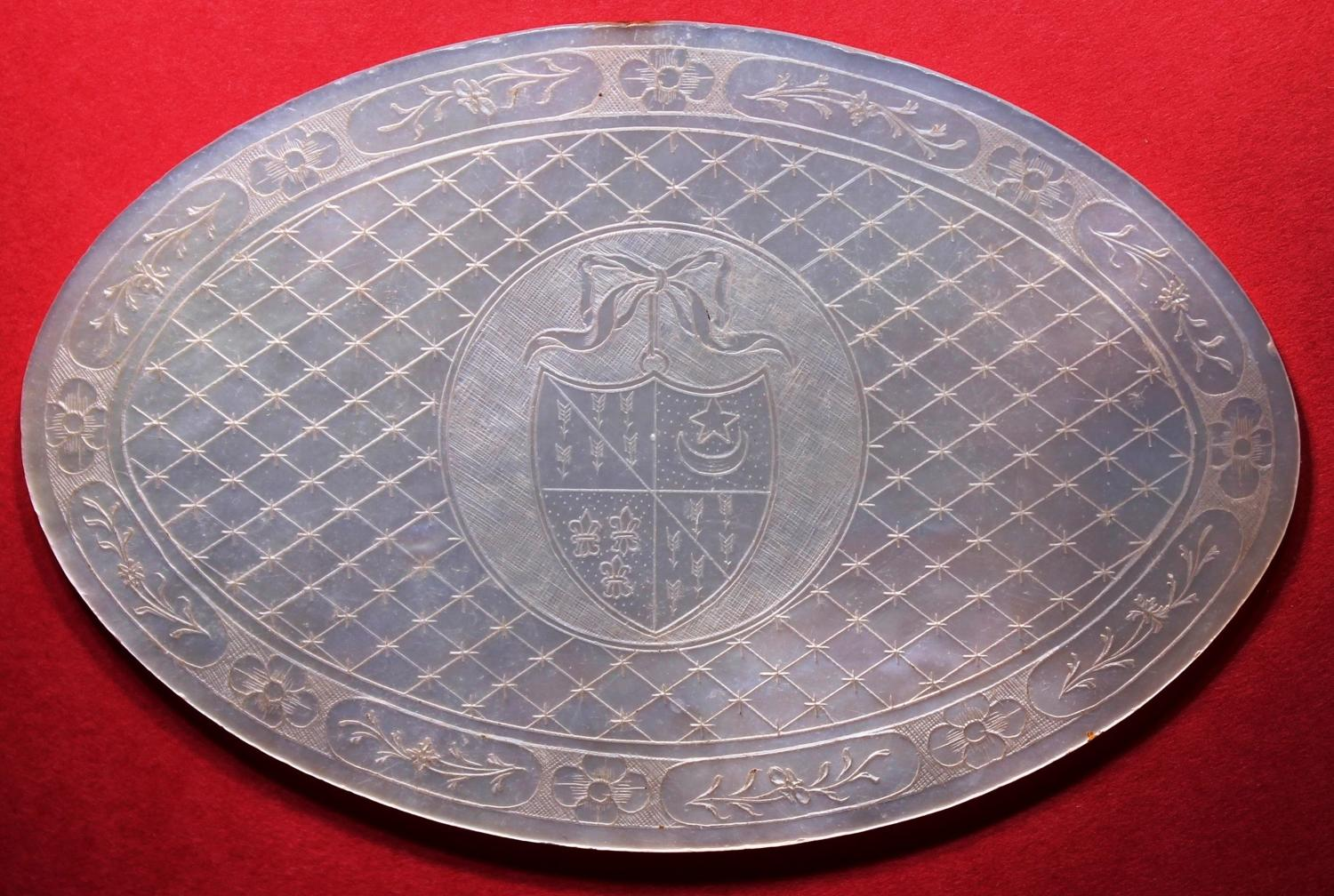 FLOYER - rare large oval