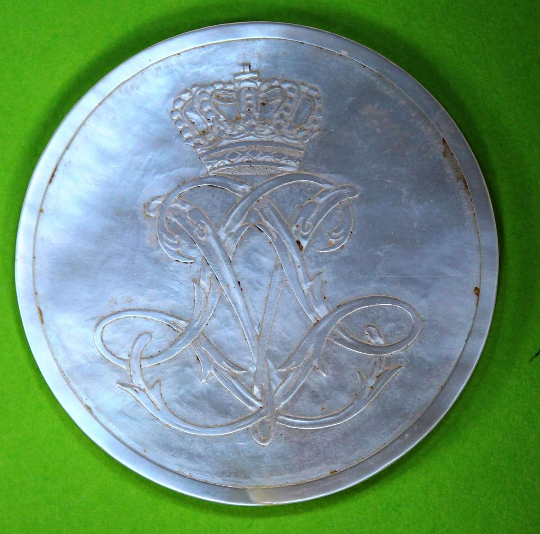 Counter made for LOVISA ULRIKA Queen of Sweden