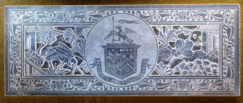 Deep-carved counter for Lieutenant-General Sir John Doveton
