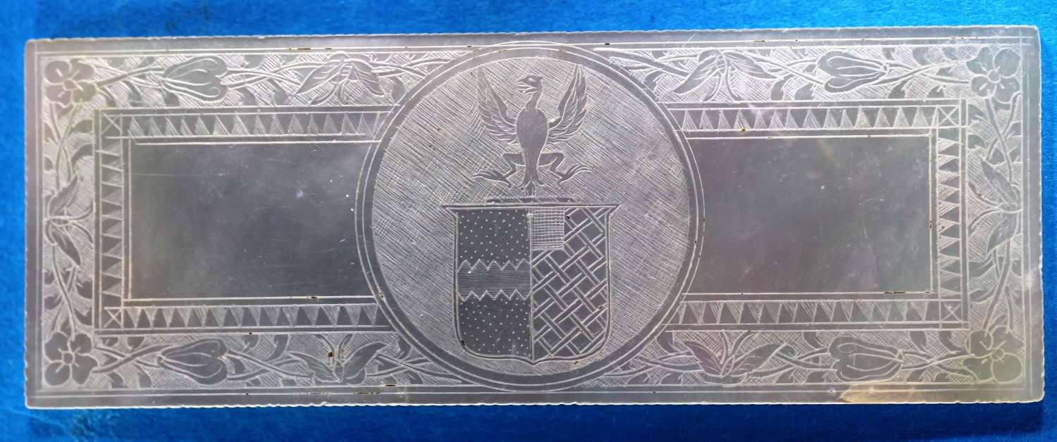 Superb armorial - family unidentified!