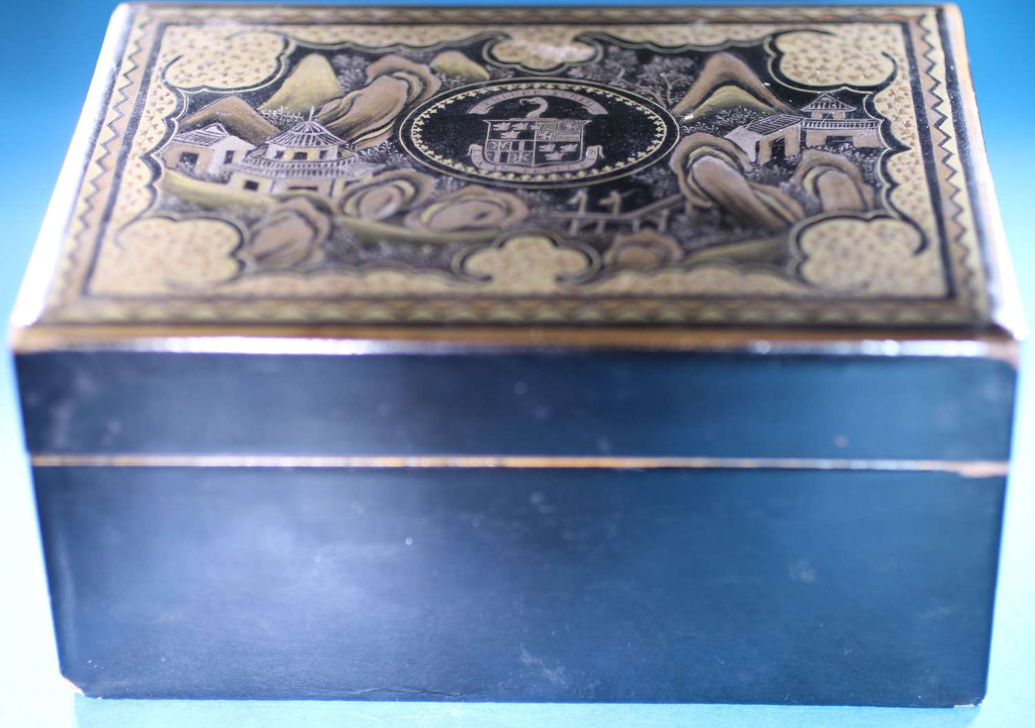 Interior lacquer box and counter for FULLERTON